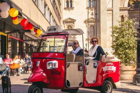 Budapest: Scenic Tuk Tuk Tour