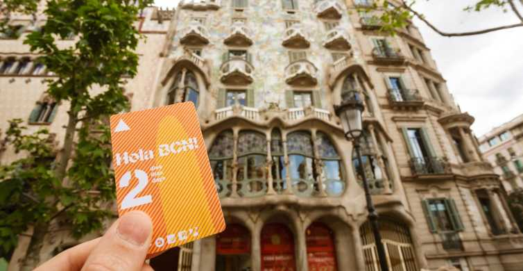 Hola BCN: 48, 72, 96, or 120-Hour Public Transport Ticket