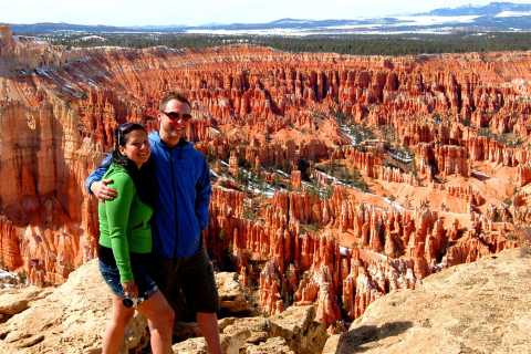 From Las Vegas: Bryce Canyon and Zion Park Combo Tour