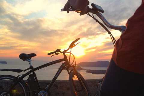 Santorini: Sunset and Wine Tasting Tour by Electric Bike