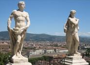 Aus Florenz: 3-stündiges Antiquariats- und Geheimagentenhaus