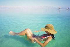 Private Tour de Dead Sea e Local do Batismo