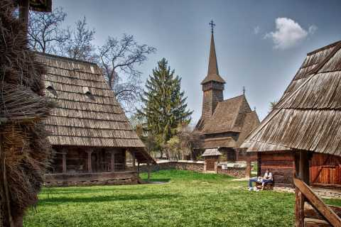 Traditions in Bucharest: Village Museum & Wine Tasting