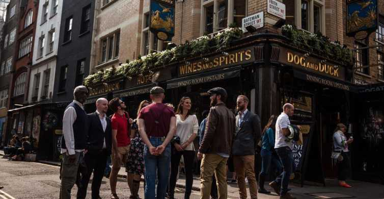 London: Soho Historic Pubs Tour with a Local Guide