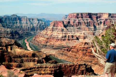 Las Vegas: Grand Canyon Rim & Helicopter Landing Experience