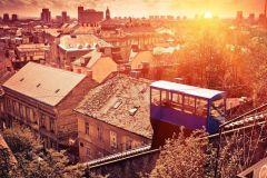 Zagreb: Excursão a Pé de Duas Horas e Meia com Funicular