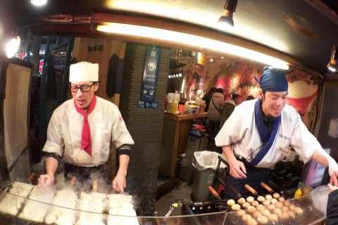 Osaka 3-Hour Evening Street Food Hopping Tour