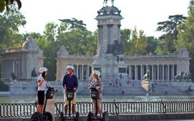 Madrid: 3-Hour XXL Segway Tour