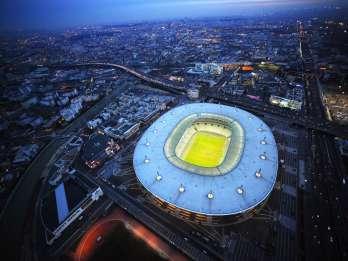 Stade de France: Führung hinter den Kulissen
