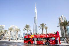 Dubai: Bilhete Ônibus Hop-On Hop-Off de 24, 48 ou 72 Horas