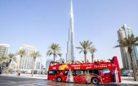 Dubai: Hop-on Hop-off Bus Tour 24, 48 or 72 Hours