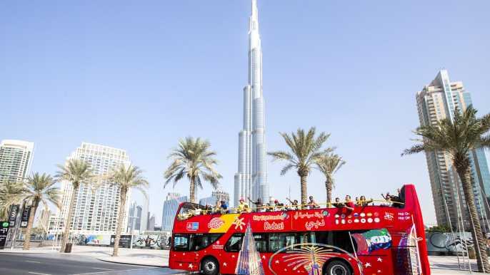 Dubái: tour en autobús turístico - 24 o 48 horas
