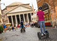 Vom Pantheon zum Kolosseum: Rom Segway-Tour