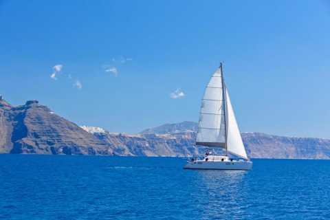 Santorini: Caldera Cruise Including Buffet and Drinks