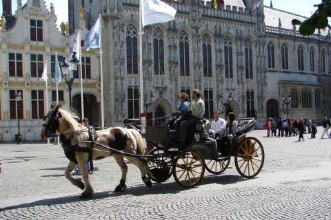 Ab Brüssel: Tagestour nach Brügge und Gent