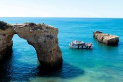 Excursão Cavernas do Algarve e Passeio de Barco 3 Horas