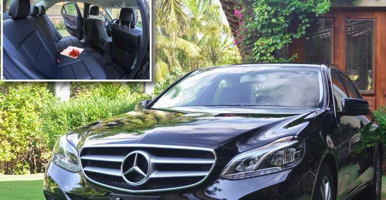Cancún: servicio de ida privado en un coche de lujo (1-3)