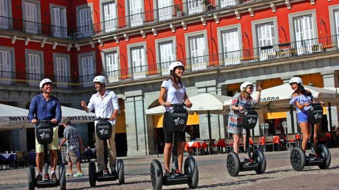 Madrid: recorrido en Segway de 2 horas por el centro histórico