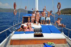 De Bodrum: cruzeiro de barco de dia inteiro