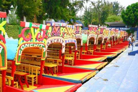 Excursion de 2 jours à Teotihuacan, Xochimilco et Guadalupe Shrine