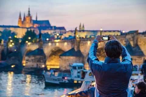 Praga: crucero con cena y música en vivo