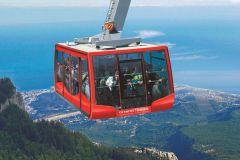 Antalya: passeio panorâmico pelo teleférico