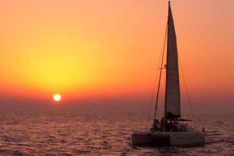 DreamCatcher Sunset Sailing Cruise in the Caldera