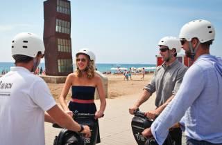 Barcelona: Segway-Tour in einer Kleingruppe