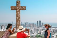Cartagena: Tour Guiado c/ La Popa e Castelo de San Felipe