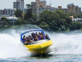 Sydney Harbour: 45-minütige aufregende Jetboot-Fahrt