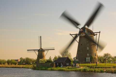 Tour per piccoli gruppi all'UNESCO Kinderdijk e L'Aia