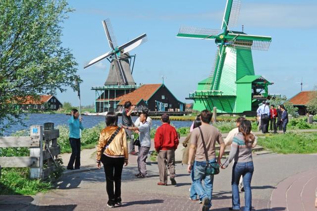 Vanuit Amsterdam: uitstap halve dag naar de Zaanse Schans
