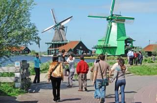 Ab Amsterdam: Windmühlen von Zaanse Schans