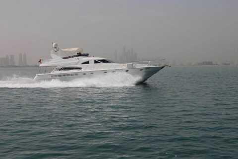 Dubaï: croisière de 2 heures et 62 pieds en yacht