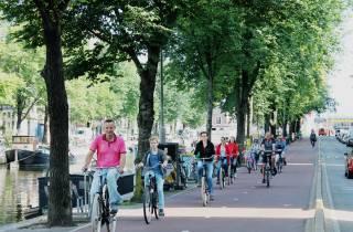Amsterdam: 3-stündige, geführte Radtour durch die Altstadt