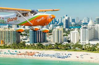 Berühmtes Flugerlebnis über Miami Beach