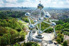 Ingresso para o Atomium de Bruxelas