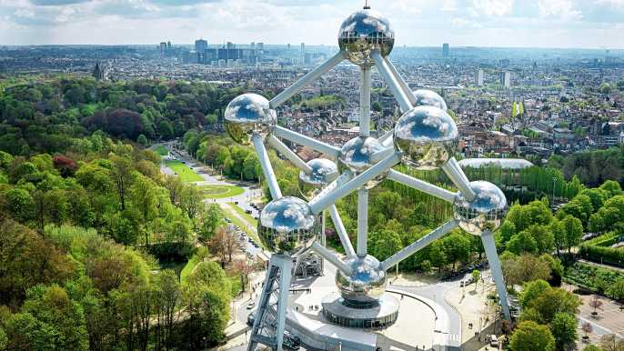 Brussels Atomium Admission Ticket