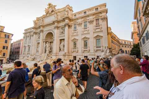 Piazzas of Rome Small Group Sunset Tour