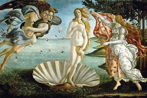 Florenz: Private Tour in der Uffizien-Galerie