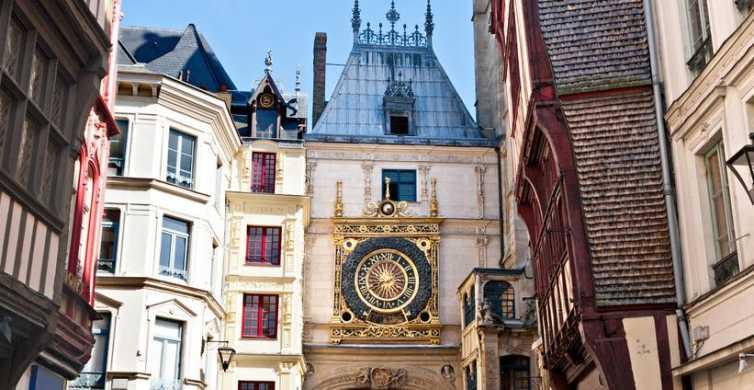 De Paris: viagem de um dia para grupos pequenos a Rouen