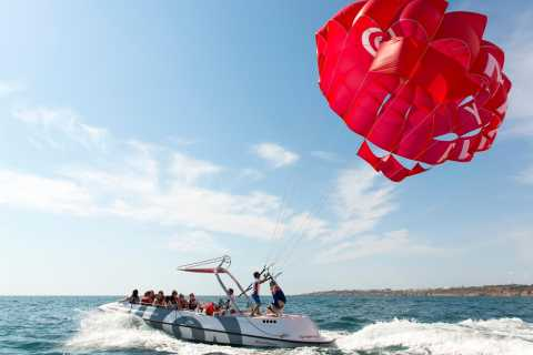 Albufeira: Single, Double or Triple Parasail