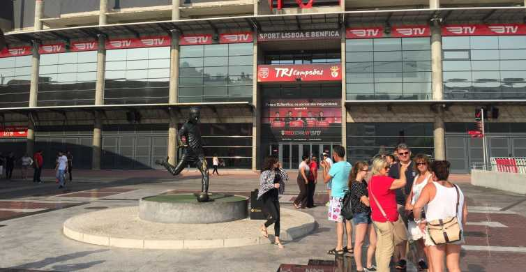 Lisboa: Excursão Museu e Estádio Benfica