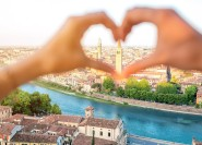 Bologna: 2-Stunden Privat Verona Romantische Walking Tour