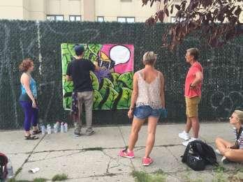 Brooklyn: Graffiti-Kurs