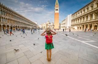 Venedig 3-stündige Führung von Mailand Gehen