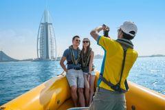 Marina de Dubai: Cruzeiro de Lancha de 60, 75 ou 99 Minutos