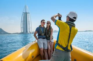 Dubai Marina Highlights: Speedboot-Tour – 60, 75, 99 Minuten