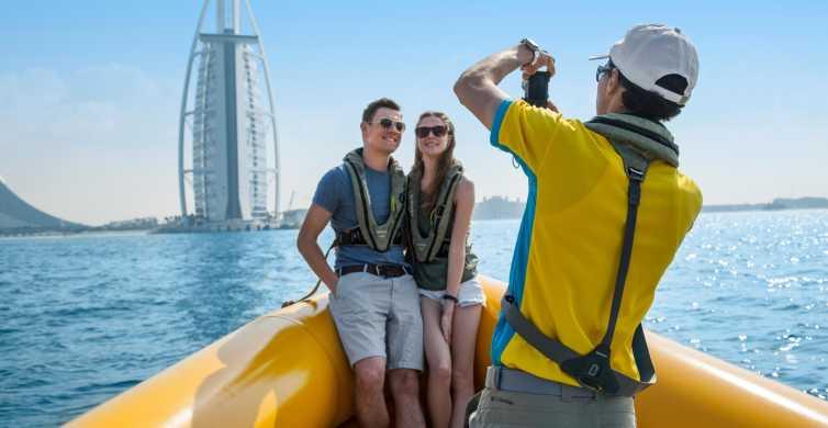 Dubai Marina Highlights: Speedboot-Tour – 60, 75, 99 Minuten