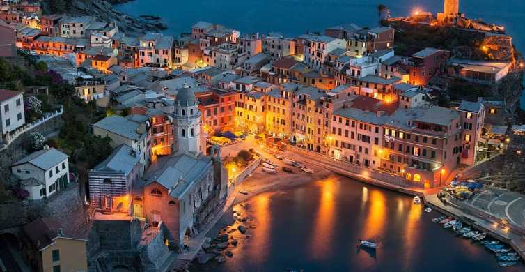 From Lucca: Full-Day Cinque Terre Small Group Tour